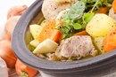 Calories in Vegetable Beef Soup