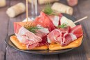 Calories in Prosciutto Ham