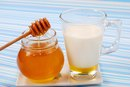 Milk & Honey to Remove Dry & Flaky Skin From the Face