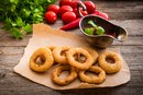 How to Make Onion Rings Using Pancake Mix