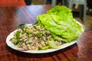 How to Cut Lettuce for Lettuce Wraps