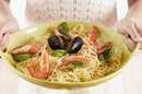 Spaghetti With Olive Oil & Red Wine Vinegar