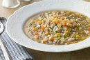 The Calories in Beef Barley Soup
