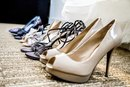 What Color Heels Go With a Woman's Dark-Brown Pant Suit?