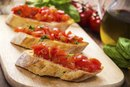 Bruschetta Nutritional Data