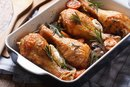 How to Bake Chicken Thighs With Mushrooms