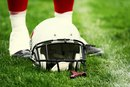 Why Football Players Tape Their Shoes