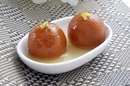 Nutrition Information for Gulab Jamun