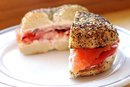 Calories in a Smoked Salmon Sandwich
