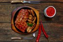 The Best Way to Cook a Pork Steak Using a Rub