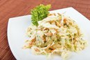 Healthy Coleslaw With Yogurt