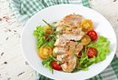 Eating Just Salad & Protein for Fast Weight Loss