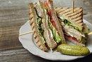 Calories in a Turkey Bacon Club Sandwich