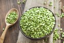 The Calories in Dried Green Peas
