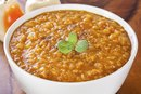 How Many Calories in Lentil Soup?