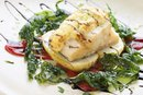 How to Bake Cod With Spinach