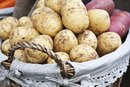 Nutritional Differences Between Russet & Red Potatoes
