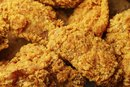 Nutrition in Fried Chicken Breasts