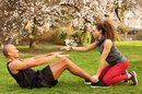 Partner Ab Exercises