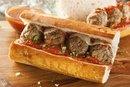 Subway Meatball Sandwich Calories