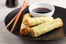 Nutrition Information for Egg Roll Wraps