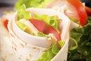 Turkey & Cheese Wrap Calories