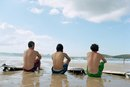 Can I Use Board Shorts Instead of Swimming Trunks?