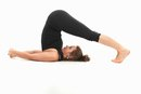 Contortionist's Back-Stretching Exercises for Front Bending