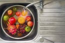 How to Soak Vegetables & Fruit in Sea Salt Water to Remove Pesticides