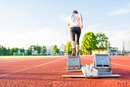 How Many Calories Are Burned by a 100M Sprinter?