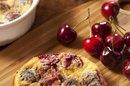 A Low-Fat, Low-Calorie Cherry Cobbler