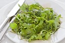 Small Mixed-Greens Salad Nutritional Values