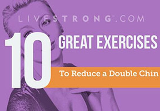 The 10 Best Exercises to Reduce a Double Chin