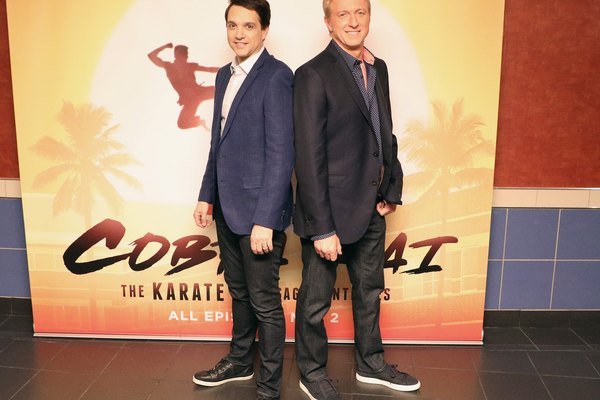 'Cobra Kai's' Ralph Macchio on being older (and sore)