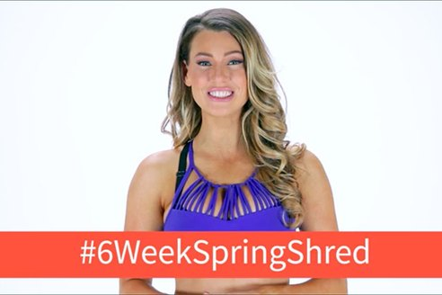 The 6-Week Spring Shred Challenge With Anna Victoria
