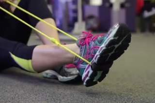 How to Use Resistance Bands to Rehab an Ankle