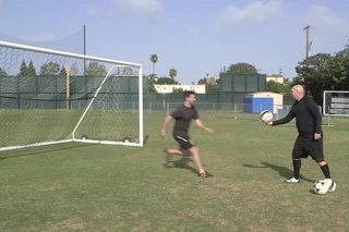 How to Save Chip Shots in Soccer