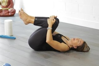 yoga position to ease painful bloating  gas  livestrong