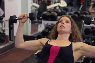 Universal Gym Equipment for Chest Presses on Inclines