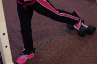Standing Rear Leg Lifts With a Toning Band