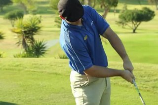 How Do I Hit a Golf Ball Straight With Open Shoulders?