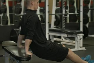 Assisted Shoulder Dips