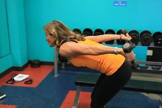 How to Tone Underarms With Dumbbells