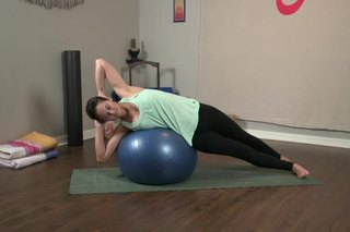 Yoga Ball Exercises for Obliques