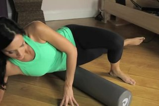 Foam Roller Stretches for the Lower Back