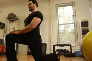 Upper Quad & Hip Stretch