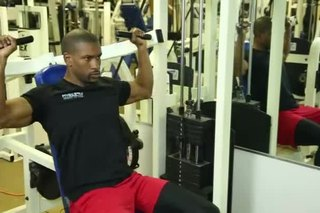 Shoulder Press Lockouts