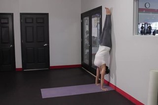 How to Do a Handstand Against a Wall
