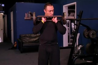 Bicep Exercises With Olympic Super Curl Bars