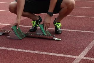 How to Set Up Sprinting Blocks